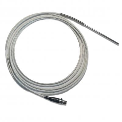 Sonda de temperatura Pt100, criogenia, 8 m cable