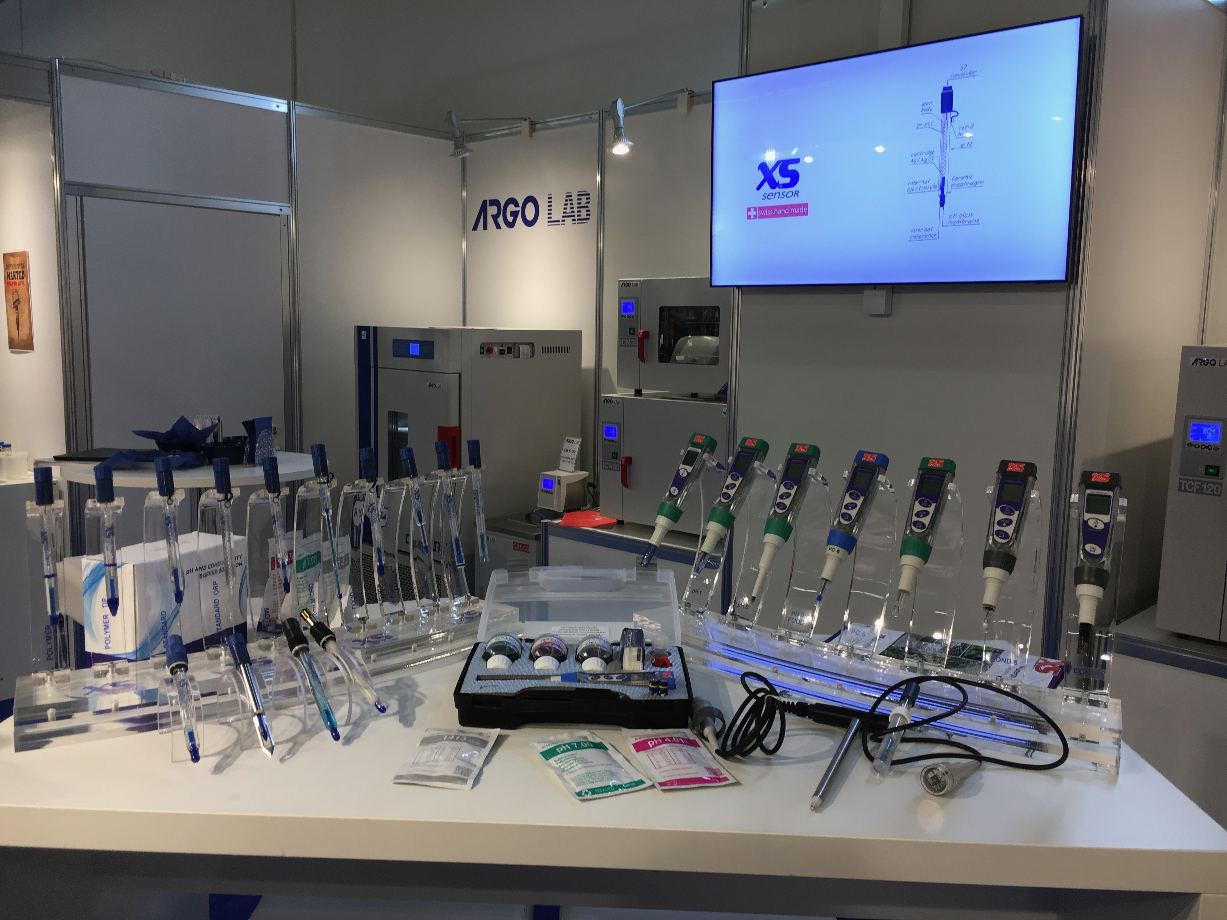 testers y electrodos XS INSTRUMENTS